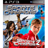Sports Champions + Sports Champions 2 Ps3 Digital Gcp
