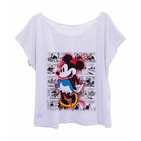 Blusa Feminina Estampada Plus Size Minnie Retro 1
