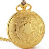 Caja Oro Reloj De Bolsillo Mecanico Esqueletico Wenshida Bli