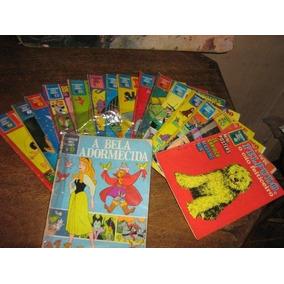 Clássicos Walt Disney 16 Edições Ano:1968 Ed Abril Formatão