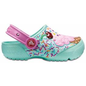 Zapato Crocs Niño Crocs Fun Lab Clog Helado