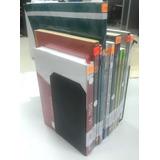 Soporte Metálico Para Libro, Color: 2 Blancos Y 22 Negros