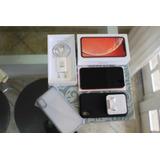 iPhone Xr 128gb Coral Perfeito Nota Fiscal E Garantia