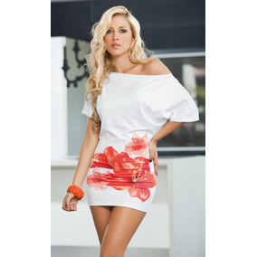 Vestido blanco fiesta playa