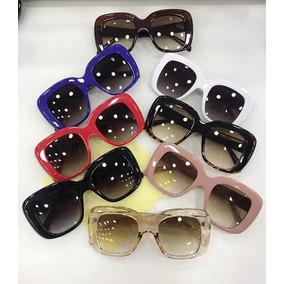 4f24b78492bc4 Oculos Vintage Grande Quadrado - Óculos no Mercado Livre Brasil