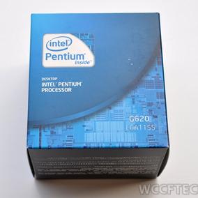 Processador Intel Pentium G620, 3mb, 2,6 Ghz Lga 1155 - Box
