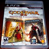 Videojuego God Of War Origins Collection Ps3 Físico Sellado