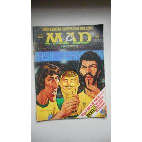 Revista Mad Nº 96 - Copa Do Mundo - Ed. Vecchi - 1982