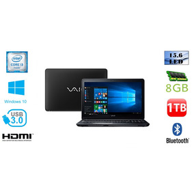 Notebook Vaio Fit 15f I3 8gb 1tb Windows 10 Pro (mostruario)