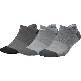 Calcetines Nike Dama Everyday Cushioned Gris M Originales
