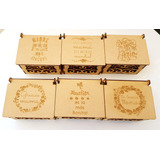 Caja Decorativa De Mdf Con Grabado 10 De Mayo