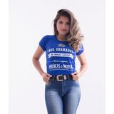Baby Look Nos Gramados De Minas Gerais - Cruzeiro