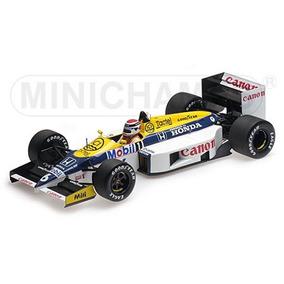 Miniatura F1 Williams Honda Fw11 N Piquet 86 1:18 Minichamps