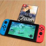 Consola Nintendo Switch De 32 Gb Con Controladores Neón Azul