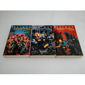 Batman A Queda Do Morcego Knightfall Encadernados Dc Comics