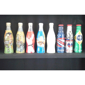 Brasil 8 Garrafa Miniatura Coca Cola E 1 Pepsi Cola