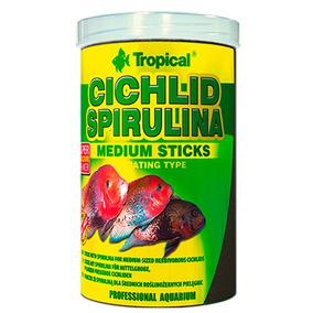 Rpx Cichlid Spirulina Medium Sticks 1000ml 360g Tropical