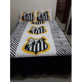 Colcha De Casal Do Santos Futebol Clube - Roupa de Cama no Mercado ... 835186473b7cb