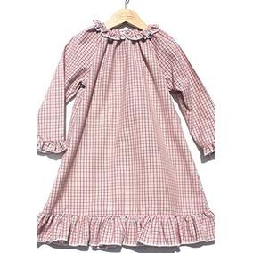 Sweet Dreams Girls Baby Christmas Plaid Pijama Camison Liger