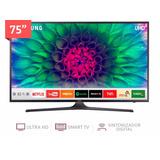Smart Tv Led Samsung 75 Mu6100 4k Ultra Hd
