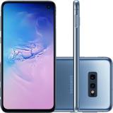 Celular Samsung Galaxy S10e 128gb 6gb 12mp+16mp 10mp - Azul