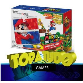 New Nintendo 3ds Super Mario 3d Land Edition Novo Rarissimo