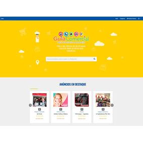 Site Guia Comercial Profissional Com Hospedagem Cloud