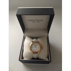 Reloj De Dama Nautica Dorado