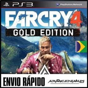 Far Cry 4 Gold + Dlcs Dublado - Jogos Ps3 Midia Digital