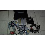 Nintendo 64 (para Reparar) Dos Controles + 6 Juegos