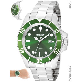bf527bcee02 Relogios Masculinos Fundo Verde Masculino - Relógios De Pulso no ...