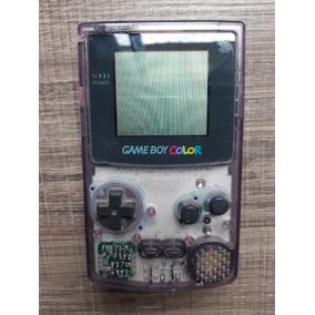 Nintendo Game Boy Color Gbc Original Roxo Translucido R.7410