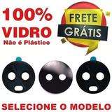 Lente Vidro Camera Traseira Moto G6 G6 Play G6 Plus Original