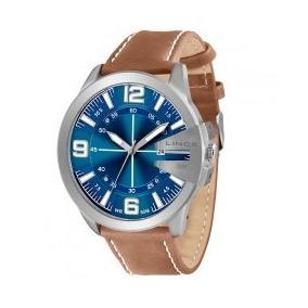 Relógio Lince Orient Mrc4333s D2mb Masc Couro Lançamento