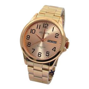 714378bde60 Relógio Atlantis Feminino Rose - Joias e Relógios no Mercado Livre ...