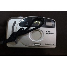 Camara Minolta De 35mm F35 Big Finder Antigua Rollo