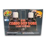 Combo Luminária P/ Terrários Zoo Med - Lf19