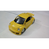 Carro De Coleccion Volskwagen New Beettle Burago Escala 1/24