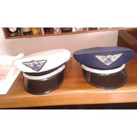 Quepe Da Aeronáutica (fab),regulamentar,branco Ou Azul,novos