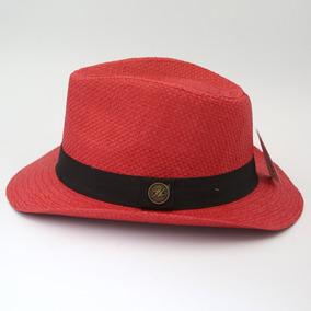 Chapeu Panama Vermelho - Acessórios da Moda no Mercado Livre Brasil cf5d16a30a7