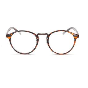 Armacao Feminina - Óculos Laranja escuro no Mercado Livre Brasil 0f71c25593