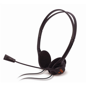 Fone De Ouvido Headset Microfone Controle Volume Oex Hs100