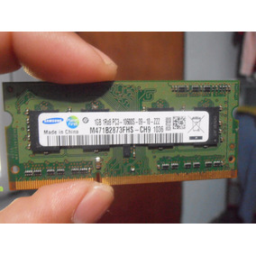 Memoria Ddr3 1gb Pc3-10600s 1333 Samsung-laptop