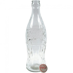 Garrafa Gigante Coca Cola Original Em Vidro Com Tampa
