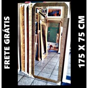 Espelho Grande 175x75 Cm C/ Moldura Sp/ Capital