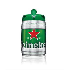 Barril Heineken 5 Lts Importado De Holanda Growlerbar
