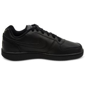 Tenis Nike Ebernon Low Negro Caballero 100% Original D