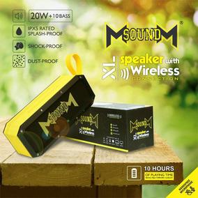Corneta Bluetooth Portátil Xl Msoundm