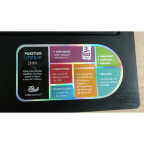 Carcaça Notebook Positivo S1991 Completa
