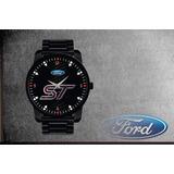 a85ac51a0a0 Relógio De Pulso Personalizado Painel Logo Ford St 002